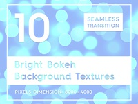 10 Bright Bokeh Background Texture
