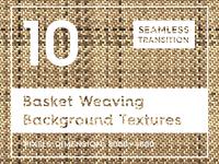 10 Basket Weaving Background Textures