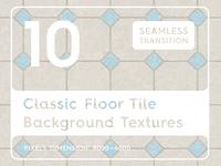 10 Classic Floor Tile Background Textures