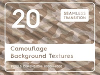 20 Camouflage Background Textures