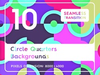 10 Circle Quarters Backgrounds