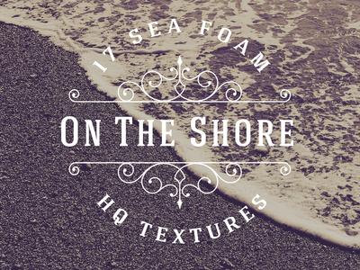 17 Sea Foam On Shore Textures