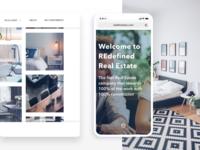 Web design for Real Estate Agency
