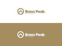 Brass Peak - Ski Resort Logo