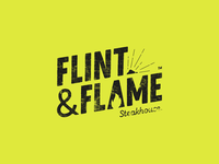 Flint Flame Steakhouse Logo