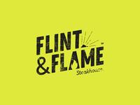 Flint Flame Steakhouse Logo