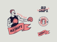 Old Chaps Boxing Club Identity