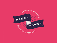 Pedal Power - Original Bicycle Trading Company Identity
