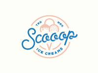 Scooop Ice Cream Logo