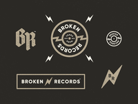 Broken Records label identity