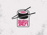 Sushi Zen Logo Concept