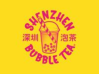 Shenzhen Bubble Tea Logo Identity