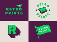 Retro Prints Identity