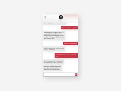 Direct Messaging design ui dailyui