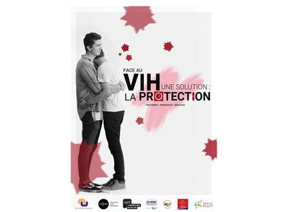 Affiche Prévention Sida pour LGBT, Hsh