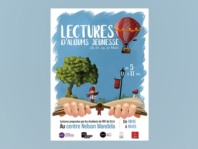 Lectures d'albums jeunesse - Poster