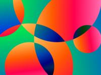 Bubbles illustration background gradient figma pattern minimal design vector ui