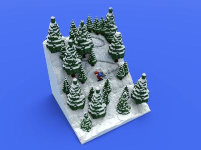 Skiing V2 Edit