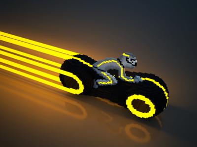 Light bike revisited