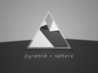 pyramid + sphere