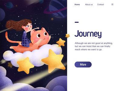 Journey desain illustration art