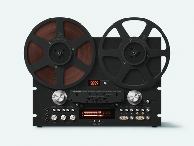 Pioneer RT 909 icon recorder tape retro pioneer