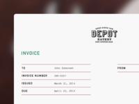 Invoice template - Pecan