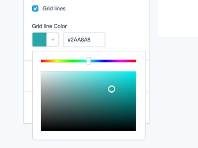 Color picker web interface ux design menu color hex ui color picker