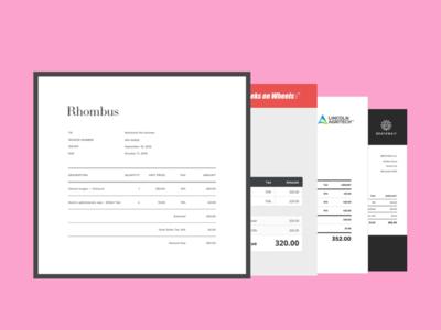 Invoices — Xero Branding Themes