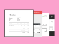 Invoices — Xero Document Designer