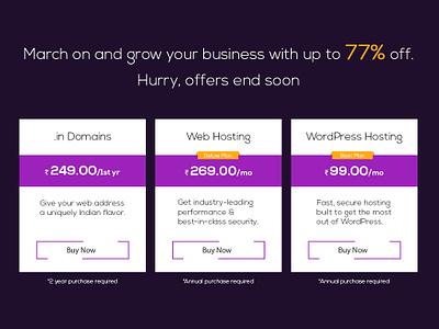 Daily UI Shot #010 pricingplan dailyshot practice portfolio pricingtable design ux ui