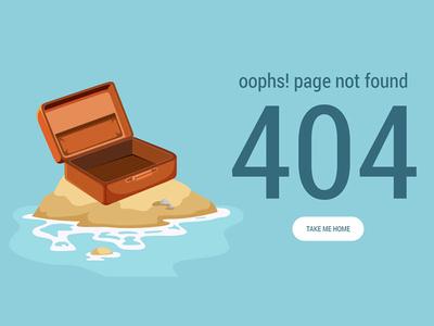 Daily UI Shot #017 clean creative practice work graphics freepik 404 error 404 daily ui uidesign uipractice dailyshot work portfolio design ux ui