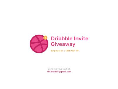One Dribbble Invite Giveaway - Ending Soon! minimalist shot work clean dribbbleusers dribbblecommunity dribbble best shot invite dribbble invitation dribbble invite dribbble