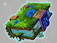 Blue Nature Book