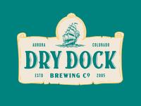Dry Dock Brewery Rebrand system identity nautical design beer illustration branding brewery brewery branding