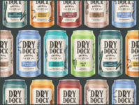 Dry Dock Brewing Core Cans brewery beer design can design can art illustration beer brewery branding packaging