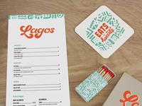 Lagos Food Truck branding