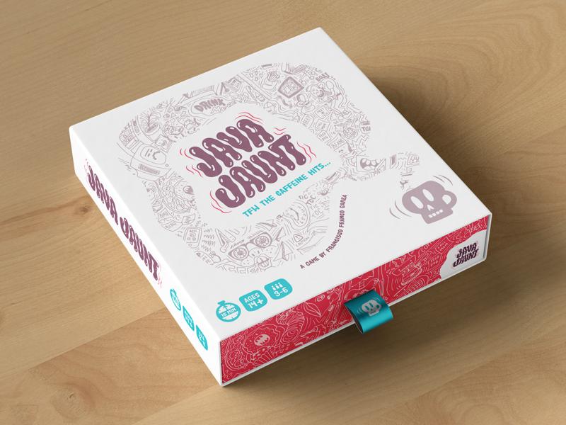 Board Game Design illustration board game branding
