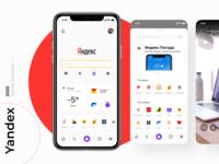 Yandex app - redesign 2020 app ux mobile mobile app ui design