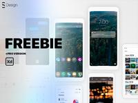 Zero X6 — Mobile UI kit (Adobe XD)