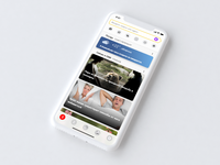 Yandex — with Alice (concept, News feed)