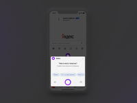 Yandex — with Alice (concept, assistant Alice)