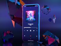 Sirenix Music App — concept