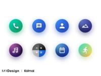 Icons set — Katmai UI (Android 9.0)