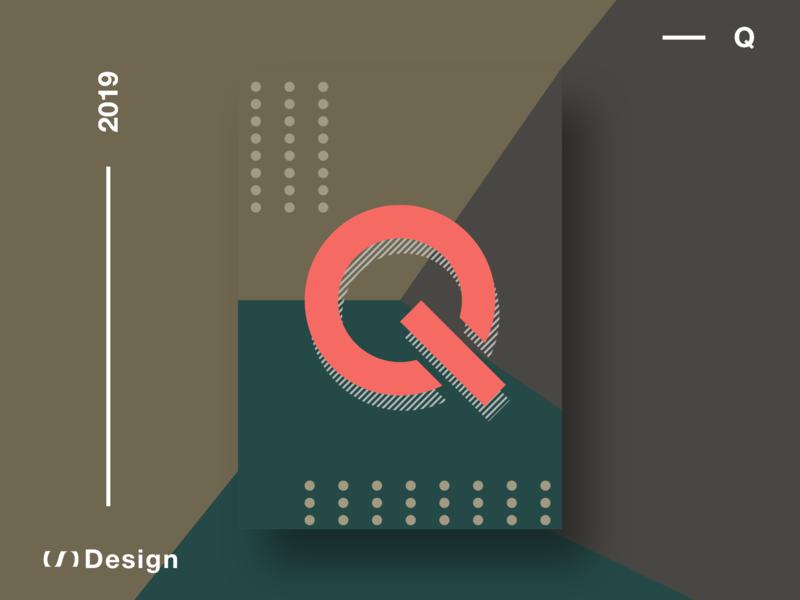 Poster — Q xd adobe xd vector illustration branding design
