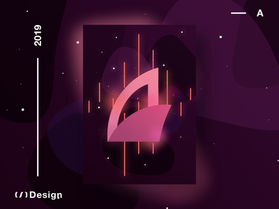 Poster — A vector branding logo xd design