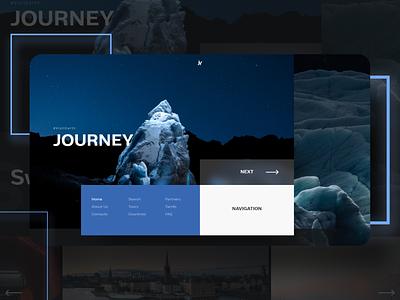 Travel site branding journey travel web ui adobe xd xd design