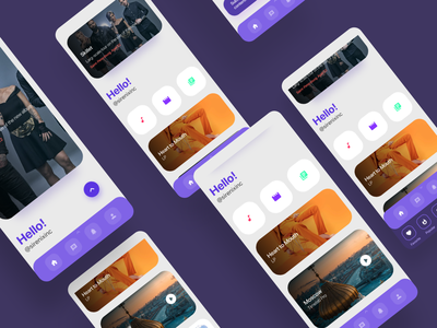 Streaming service invision studio invision animation app kit branding design