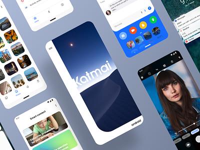 Katmai UI Kit design xd adobe xd ui kit mobile mobile ui mobile ui kit uidesign mobile design app