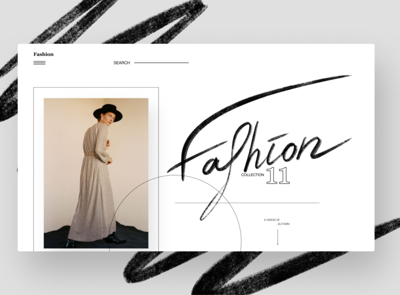 Fashion - fashion store branding ui webdesign website web figma design